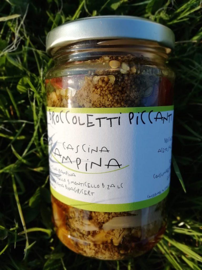 Broccoletti piccanti sott'olio
